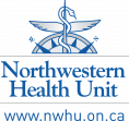This is the Northwestern Health Unit logo - it includes the URL www.nwhu.on.ca